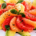 Deliciosa Ensalada de Toronja con Aguacate