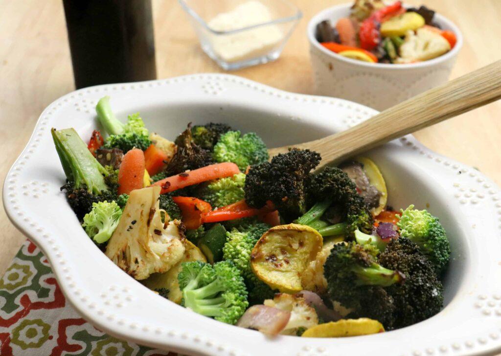 Deliciosas Verduras Asadas en la Freidora