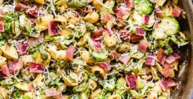 Pesto de Colores de Brusellas y Tocino