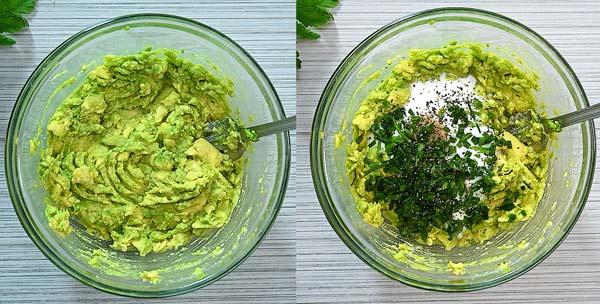 Ensalada de Huevo y Aguacate