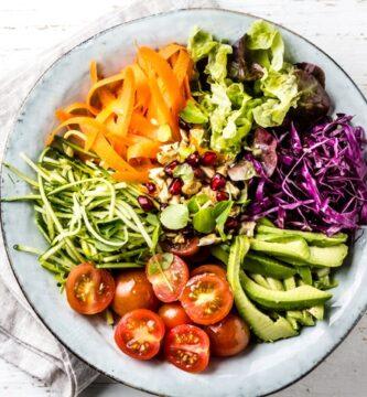 Las mejores recetas de ensaladas veganas